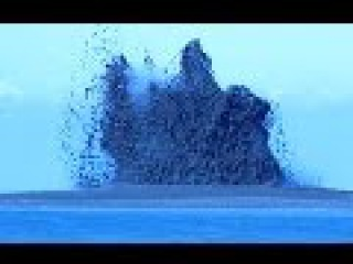 Очевидцы сняли на видео извержение грязевого вулкана в Азовском море