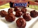 Конфеты а-ля Сникерс . Домашние конфеты с арахисом
