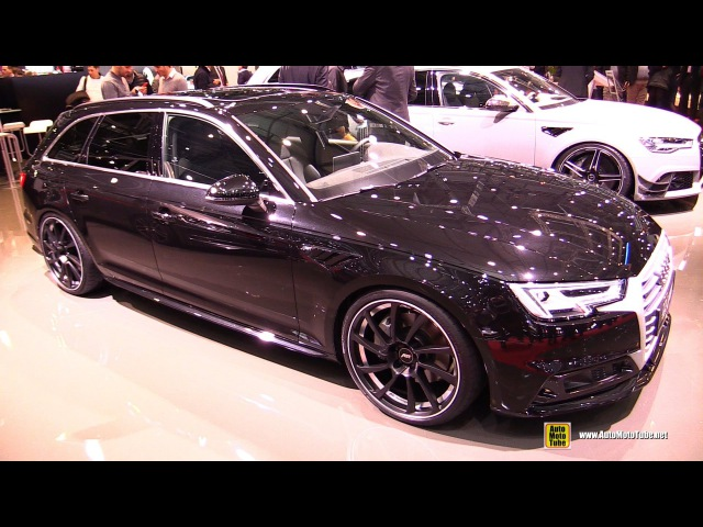 2016 Audi A4 ABT AS4 Avant - Exterior and Interior Walkaround - 2016 Geneva Motor Show
