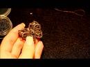 Расшивка бусинами в Анкарсе от Angela Gambka. Часть 4.