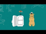 Мультик для детей - Бегемот и компот (Веселая карусель №39)