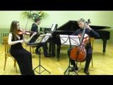 Й. Гайдн. Трио № 2 fis-moll для скрипки, виолончели и фортепиано, I и II части.