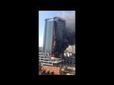 НаГагаринском плато вАркадии горит высотный дом(фото, видео, обновляется) - Новости Одессы