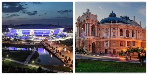 Об отличиях Донецка и Одессы