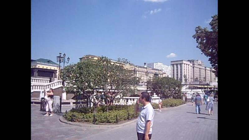 В Александровском саду Фонтан с конями Москва
