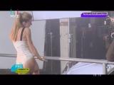 Съёмки клипа Юлианны Карауловой на песню Хьюстон (PRO-Новости)