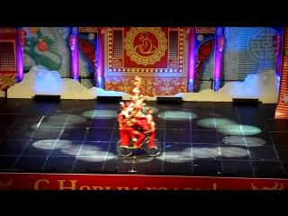 Один из номеров представления китайского цирка 26-го декабря 2015 года.