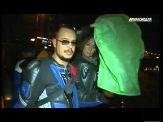 Байкеры Краснодара присоединились к акции памяти погибших мотоциклистов