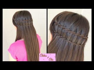 Плетение кос техника водопад