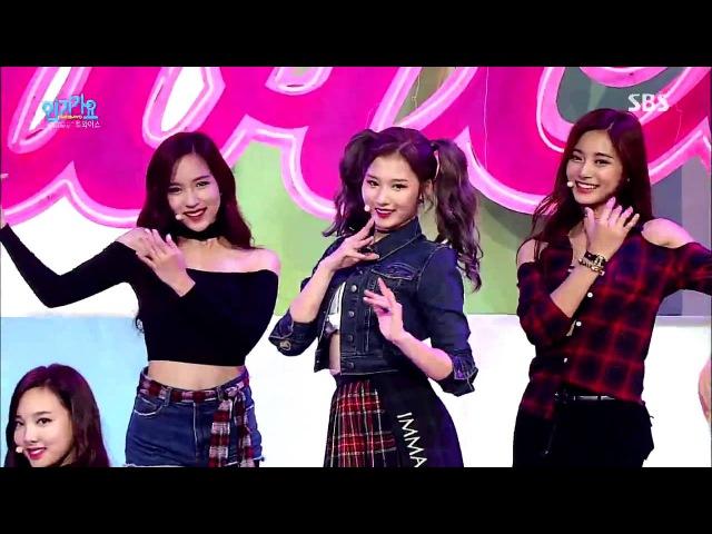 TWICE(트와이스) OOH-AHH하게(Like OOH-AHH) Stage @ SBS Inkigayo 2015.10.25