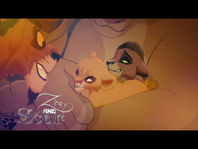 Король лев История Зиры и Шрама Zira and Scar Family