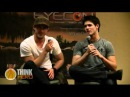 Steven McQueen and Michael Trevino Q A at EyeCon 2011 part 2 Steven shows off his abs