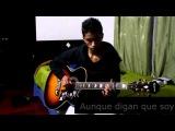 Bandolero-Don Omar &amp Tego Calderon- (Guitar cover-Punteos completos) Instrumental
