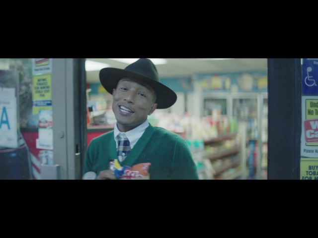 Часовой клипчик на Pharrell Williams - Happy (12AM)