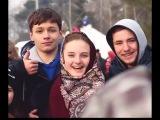 Так отдыхает молодёжь в России. Народ пустился в пляс. Хоровод в Захарово 2015. Once in...