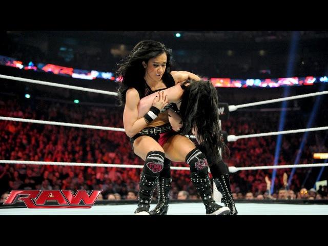 Paige vs. AJ Lee - Divas Championship Match: Raw, April 7, 2014