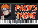 Pain's Theme (Girei) - Naruto Shippūden [Piano Tutorial] (Synthesia) // DrJekyll MrHeil