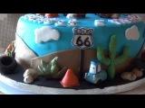 Делаем торт по мотивам мультика