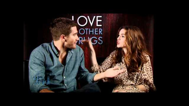 Jake Gyllenhaal Anne Hathaway on 7pm Project