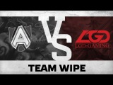 Team wipe by Alliance vs LGD-Gaming @WCA 2015 LAN Finals