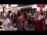 Flashmob - Crazy Russian's on Ibiza - Русские зажигают на Ибице