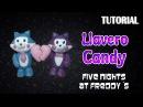 Tutorial Llavero Candy en Porcelana Fria / FNaF / Candy Charm Polymer Clay Tutorial