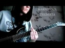 Karnivool Themata Guitar cover