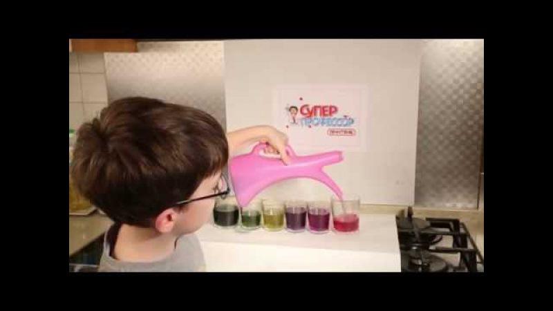 Химия дома - Делаем универсальный pH индикатор из краснокочанной капусты!