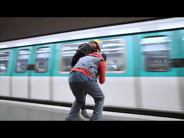 PARIS METRO SWAGGERS New Style Hip Hop Dance | YAK FILMS soFLY