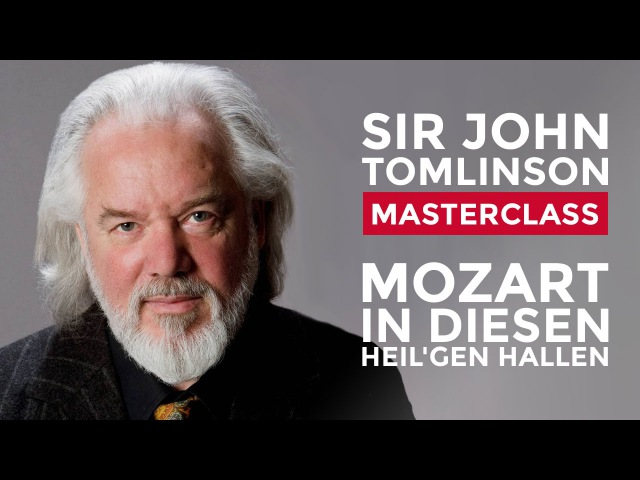 John Tomlinson Vocal Masterclass at the Royal College of Music: Mozart aria from Die Zauberflote