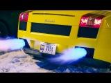 Supercar Snowmageddon   Gallardo, GTR, 4C, F-TYPE R, CTS-V