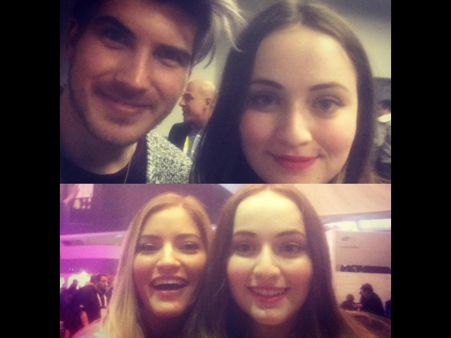 Joey Graceffa and iJustine Pannel at CES in Las Vegas