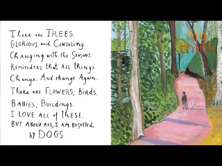 Maira Kalman:  All Great Ideas Start With An Empty Brain
