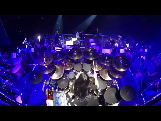 Uriah Heep - Easy Livin' - Randy Black drumcam Rock Meets Classic 2014