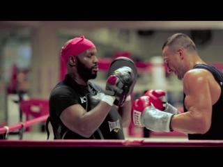 Как Кличко готовится к бою с Фьюри (видео тренировок чемпиона)