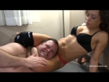 Mixed Wrestling-Maria Queen Vs Brian