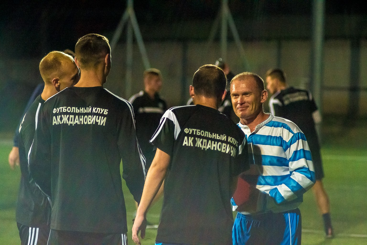 Тренировка ФК АК Ждановичи на Динамо-Юни