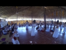 Я танцую мандалу с Патрой на фестивале тантры в Арамболе(Гоа) 2015
