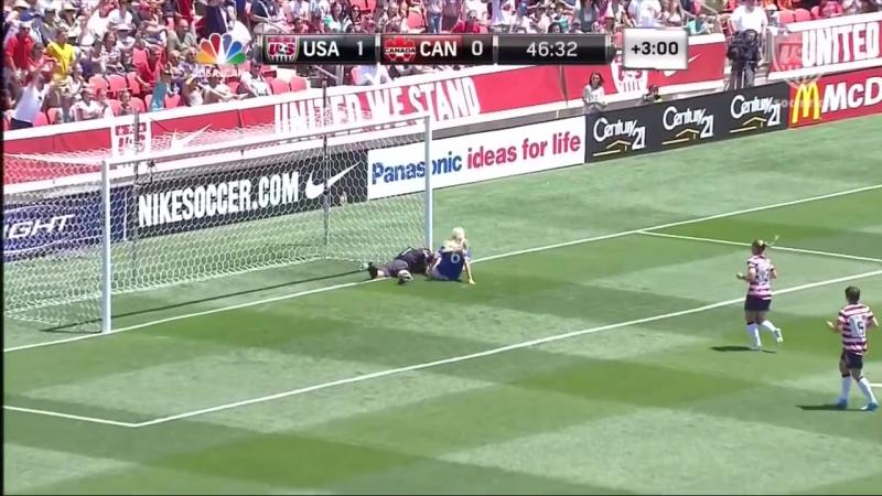 WNT vs. Canada Hope Solo Save - June 30, 2012