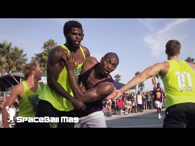 Metta World Peace in VBL - Venice Basketball League