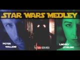 Star Wars Medley - Lindsey Stirling &amp Peter Hollens #geekweek