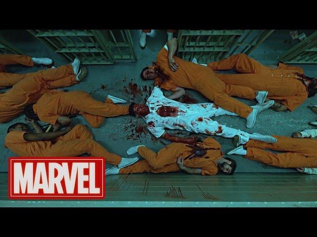 The Prison Fight   Daredevil Season 2   (2016) HD