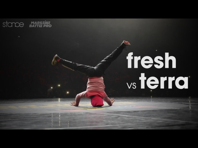 Fresh v Terra .stance Marseile Battle Pro 2016 Kids Final