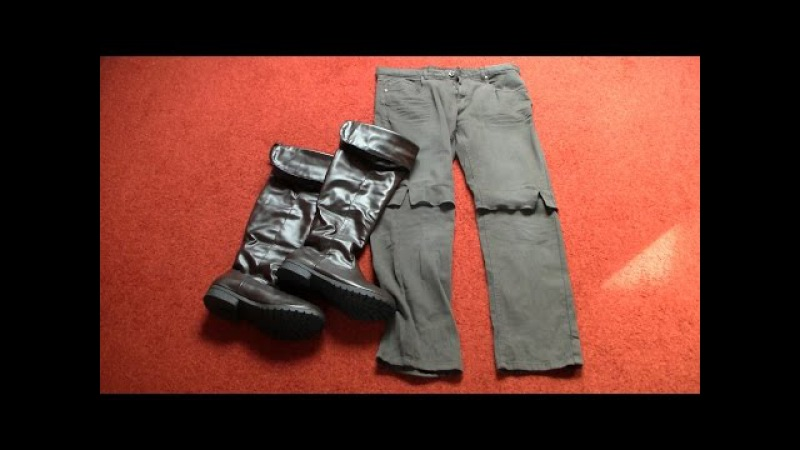 Arno costume (ACU) trousers boots tutorial