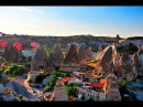Каппадокия Турция: Нереальная сказочная картина созданная ПРИРОДОЙ