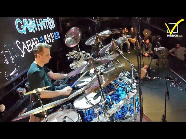 Gavin Harrison Drum Kit - Sonor Zildjian