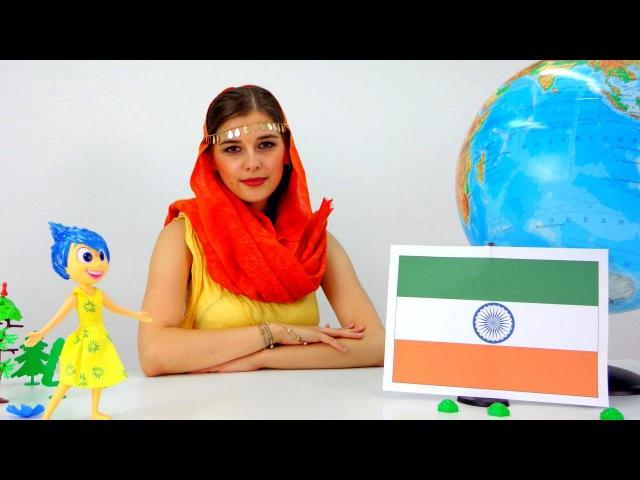 Модная география Маша и Радость в Индии
