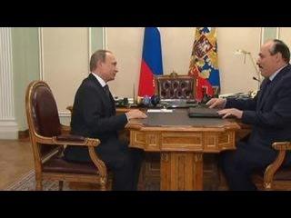 Глава Дагестана рассказал Путину о положении дел в республике