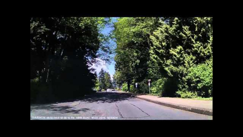 Take a drive around Stanley Park in Vancouver B.C. Canada