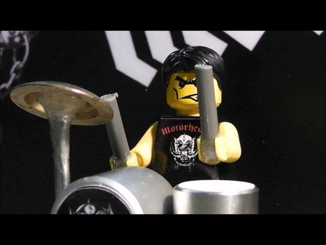 Ace Of Spades Motörhead Lego HD